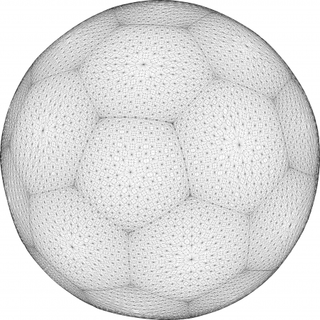 playoff: Football Soccer Ball Sphere Net