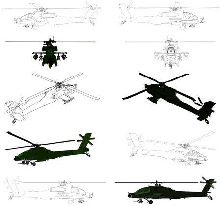 military aircraft: Military Helicopter