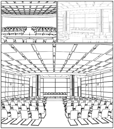 congresses: Conference Hall Interior