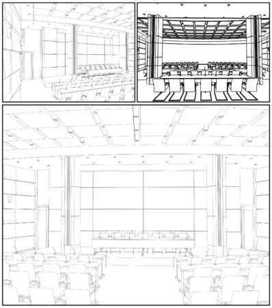 conference hall: Conference Hall Interior