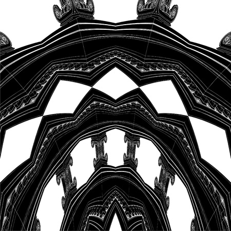 roman column: Antique Ionic Column Ornamental Structure