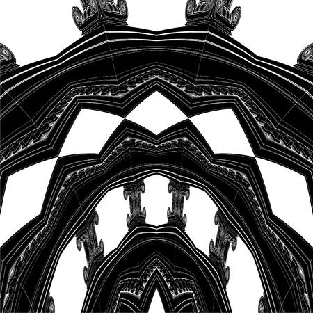 derecho romano: Estructura antigua Columna ornamental Ionic
