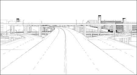 road ring: A Highway Interchange