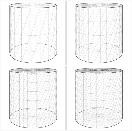 cylinder: Cylinder From The Simple To The Complicated Shape