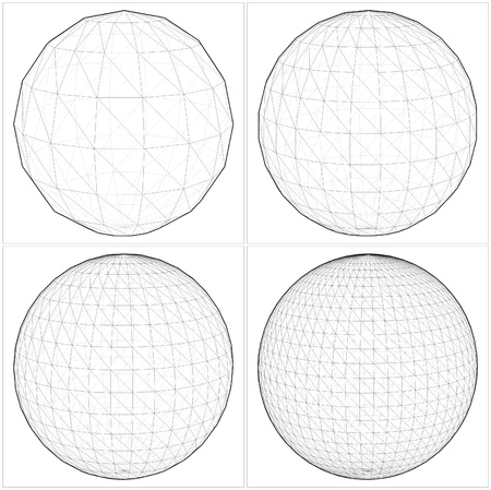 complicated: Sphere From The Simple To The Complicated Shape