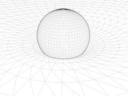 gravitation: Einstein s Wire Net General Theory Of Relativity Structure