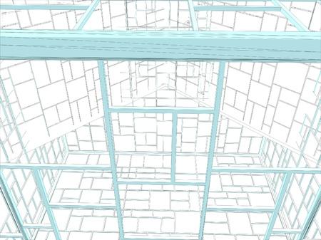 Abstract Ornamental Constructions Vector Stock Vector - 20613592
