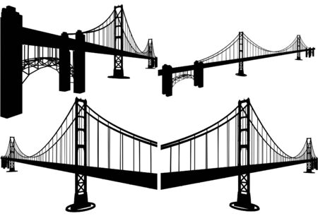 suspension: The Bridge Vector