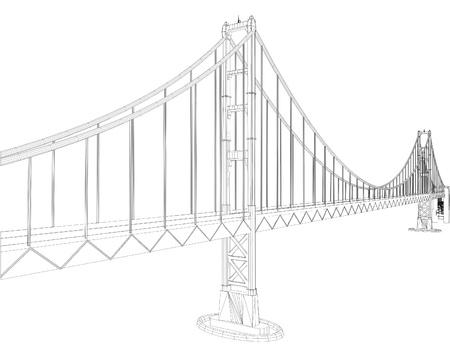 rope bridge: The Bridge Vector