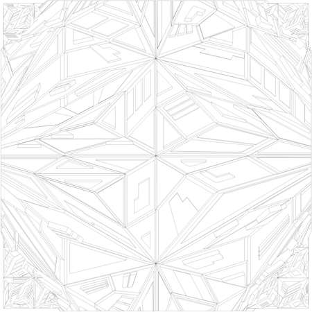 adamant: Diamond Crystal Geometric Pattern Structure Vector