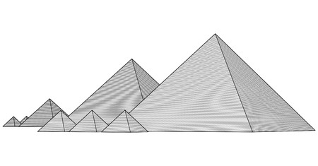 menkaure: Pyramids From The Giza Plateau