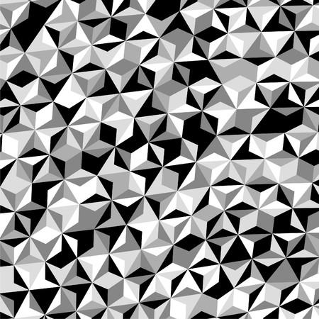 black в white: Black White Gray Triangle Pattern Vector