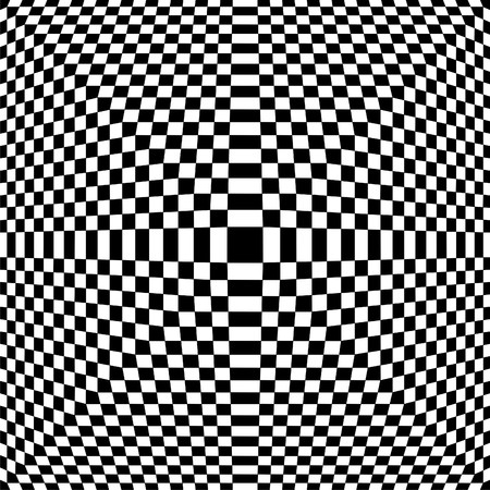 symmetrical design: Black And White Chess Pattern Vector