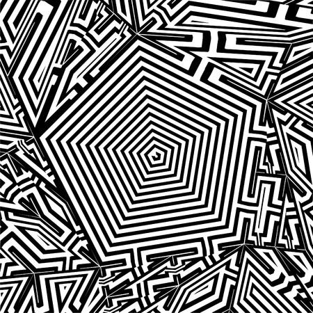 pentagon: Maze Labyrinth Pentagon