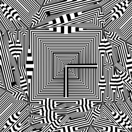 foursquare: Maze Labyrinth Tetragon