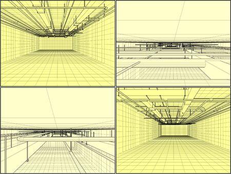 vent: Ventilation System On The Ceiling Illustration