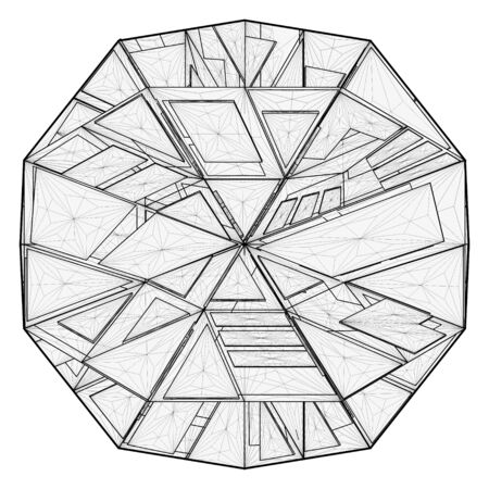 truncated: Origami Structure Vector
