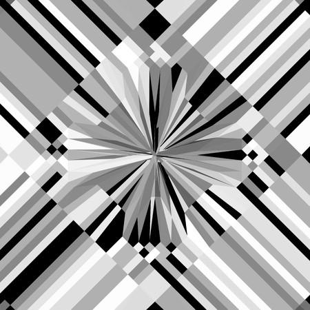 modernism: Vintage Hipster Geometric Pattern Background Vector