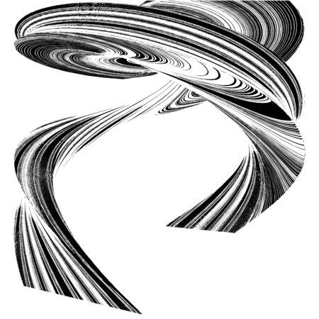 twister: Geometric Twister Shape Vector