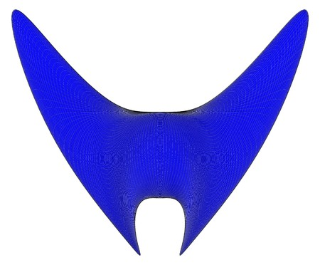 01: Abstract Bat Open Wings Vector 01. Flying Concept Elements Icon Logo. Illustration