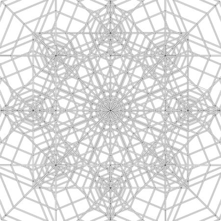 spider web: Abstract Spider Web Construction Structure Vector