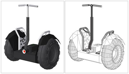 alternative: Alternative Transport Vehicle Vector