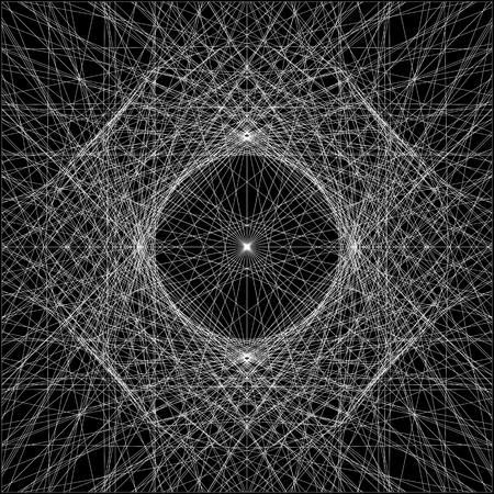 wires: Spider Wire Net Background Illustration