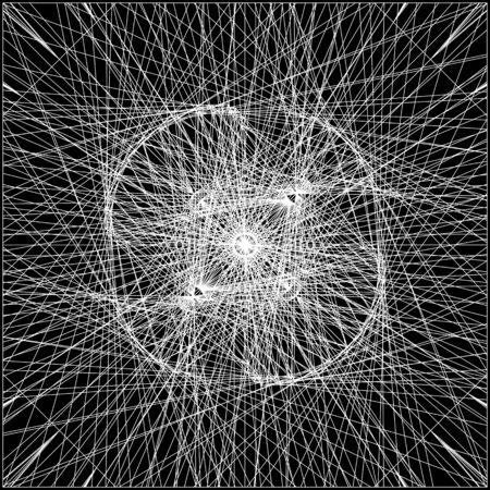 wire mess: Spider Wire Net Background Illustration