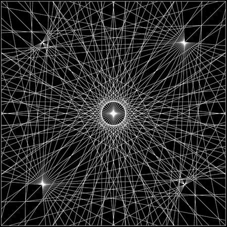 architectural styles: Spider Wire Net Background Illustration
