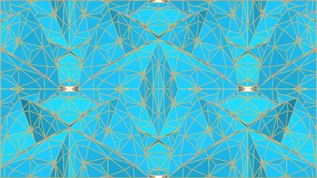 Geometric Colorful Mosaic shapes design