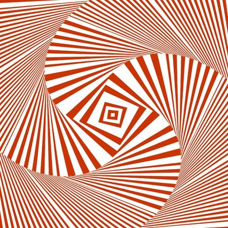 Hypnotic Stripe Shapes Vector Stock Vector - 102808814