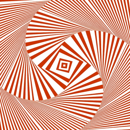 Hypnotic Stripe Shapes Vector