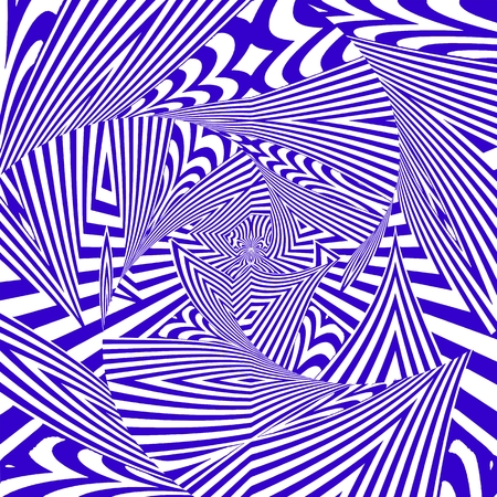 Hypnotiserende Stripe Shapes Vector