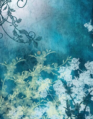 backdrop: Blue white Digital background Backdrop designed by nescreationdesigns com