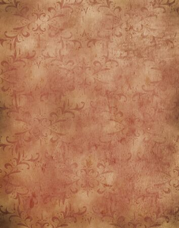 backdrop: Peach decorative texture Digital background Backdrop designed by nescreationdesigns com Stock Photo