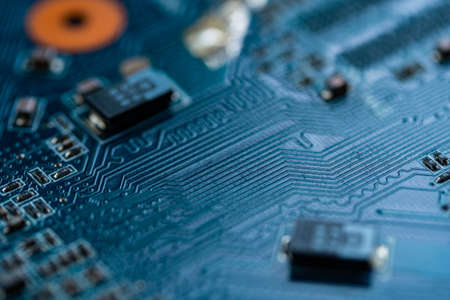 Circuit board computer, electronic hardware texture background