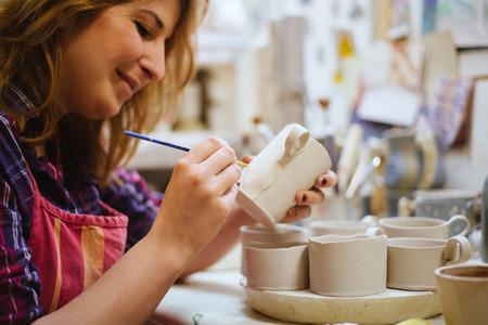 Pottery artist