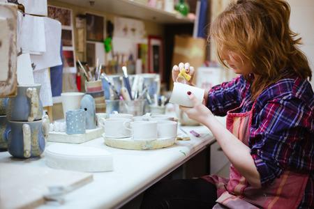 sculptor: Pottery artist