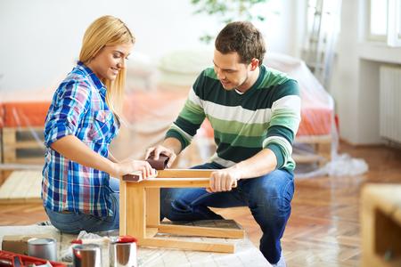 furniture: Sanding furniture