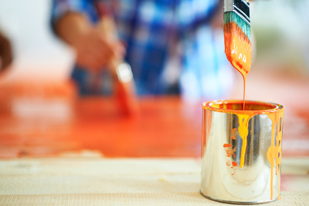 Painting furniture Stock Photo - 36714671