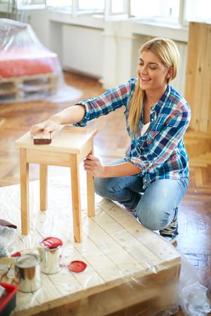 furniture: Brushing furniture