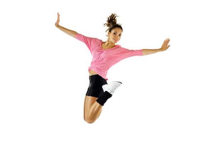 ジャンプの現代バレエ ダンサー
