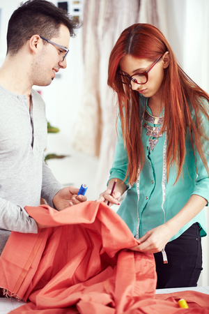 alteration: Two young designers working on a material