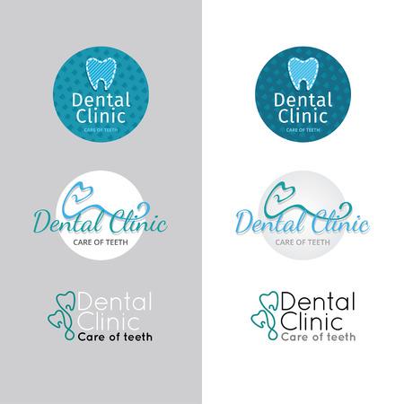 Clinica dentale. Set di colori Archivio Fotografico - 48032702