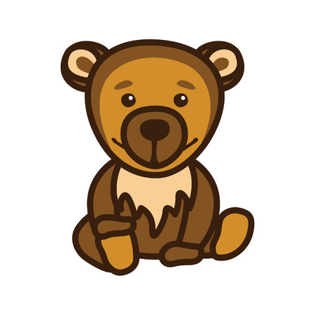 depicts: Illustration which depicts a bear