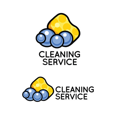 dry cleaner: Logo for cleaning service