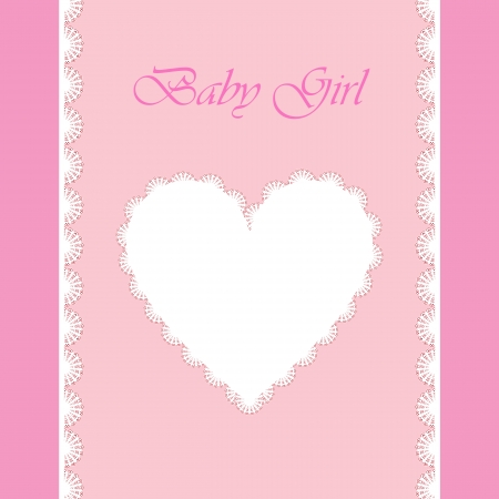 doughter: elegant baby card