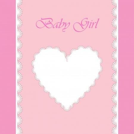 elegant baby card