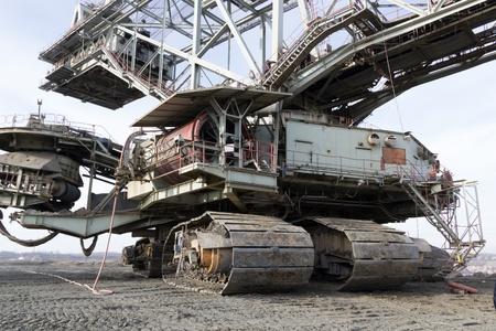 Heavy mining drill machine Stock Photo - 18126409