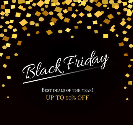 Black friday sale background Modern design 일러스트